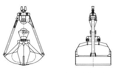 Seilgreifer – Typ VS (Hafenumschlag)