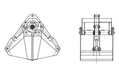 Motorgreifer – Typ MZGK (Hafenumschlag)