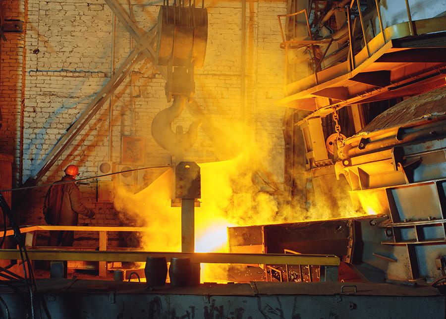 Industrien Stahl